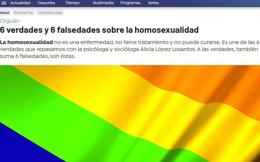 6 verdades y 6 falsedades sobre la homosexualidad