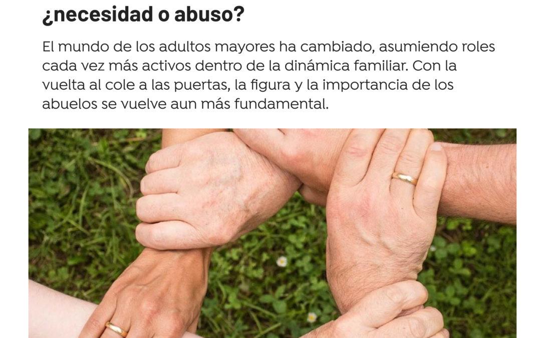 Abuelos forzosos con la vuelta al cole: ¿necesidad o abuso?